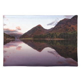 Sunset at Loch Leven, Scotland Placemat
