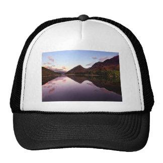 Sunset at Loch Leven, Scotland Trucker Hat