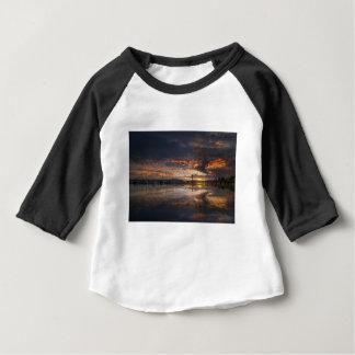 Sunset at Marina in Anacortes in Washington USA Baby T-Shirt