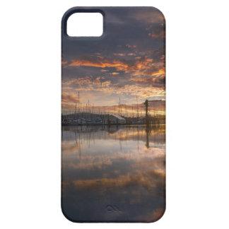 Sunset at Marina in Anacortes in Washington USA iPhone 5 Case