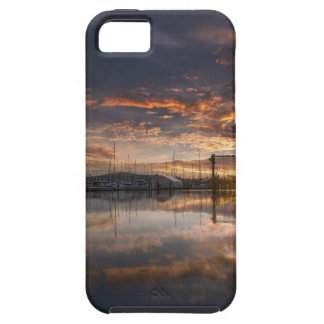 Sunset at Marina in Anacortes in Washington USA iPhone 5 Cover