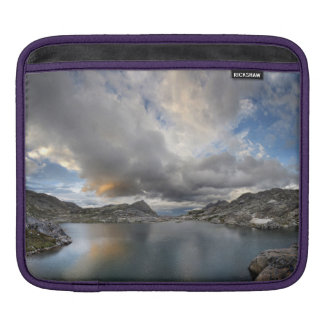 Sunset at Middle Nydiver Lake - Sierra iPad Sleeve