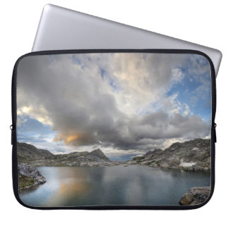 Sunset at Middle Nydiver Lake - Sierra Laptop Sleeve