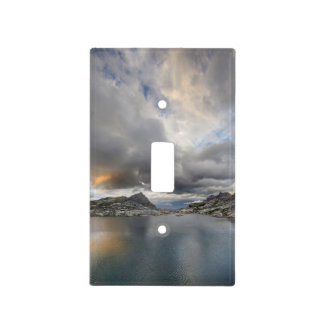 Sunset at Middle Nydiver Lake - Sierra Light Switch Cover