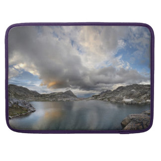 Sunset at Middle Nydiver Lake - Sierra Sleeve For MacBook Pro