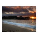 Sunset at Monastery Beach, Carmel, California,