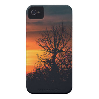 Sunset at Nature Landscape Scene iPhone 4 Case