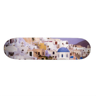 Sunset at Oil, Santorini 2 Skate Boards