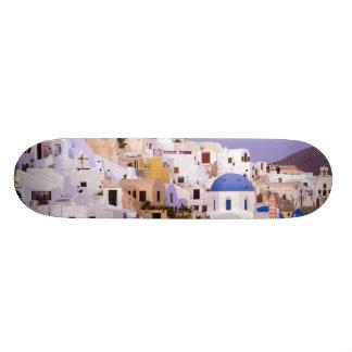 Sunset at Oil, Santorini 2 Skate Boards