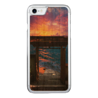 Sunset at Paradise Bay Carved iPhone 8/7 Case