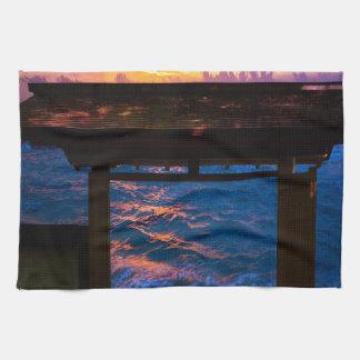 Sunset at Paradise Bay Kitchen Towel