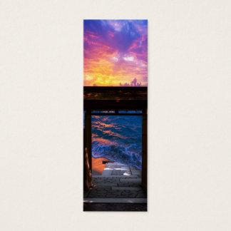 Sunset at Paradise Bay Mini Business Card