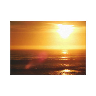 Sunset at Rockview Canvas Print