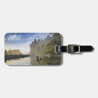 Sunset at Ruby Beach, Olympic National Park, Luggage Tag
