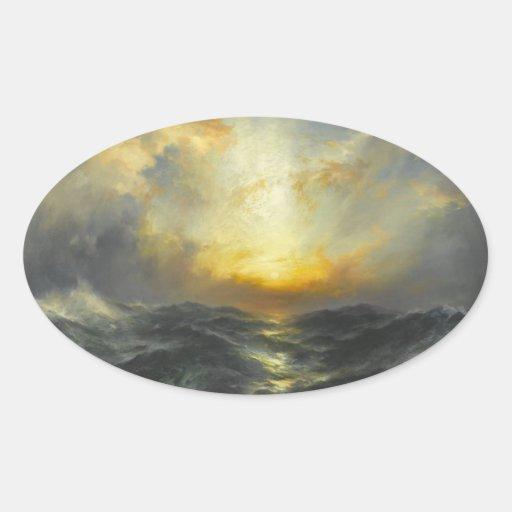 Sunset at Sea - 1906 Sticker