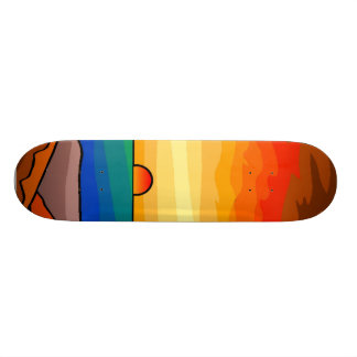 Sunset at Sea Skateboard