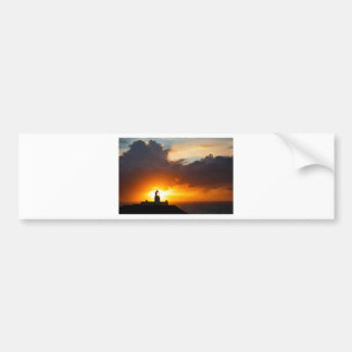 Sunset at Strumble Head Lighthouse Bumper Sticker