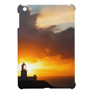 Sunset at Strumble Head Lighthouse Case For The iPad Mini