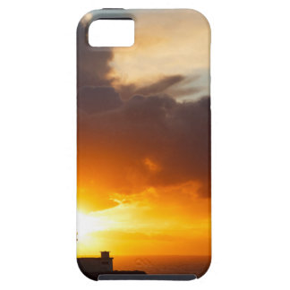 Sunset at Strumble Head Lighthouse iPhone 5 Cases