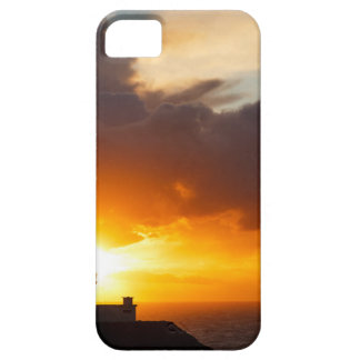 Sunset at Strumble Head Lighthouse iPhone 5 Cover
