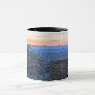 Sunset at Study Butte Mug