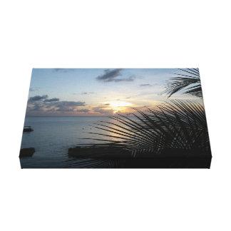 Sunset at Sunset House GCM Canvas Print