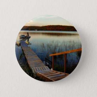 Sunset at the Bay 2 Inch Round Button