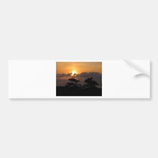 Sunset at the Beach Bumper Sticker