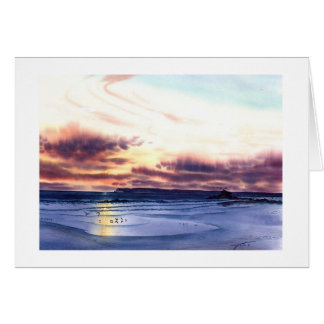 SUNSET AT THE BEACH JPEC CARD