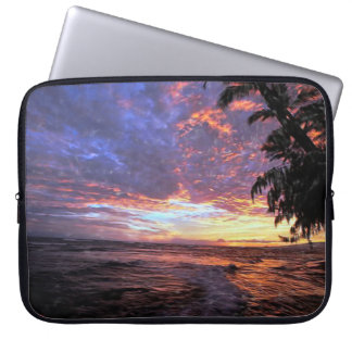 Sunset at the Beach Laptop Sleeve