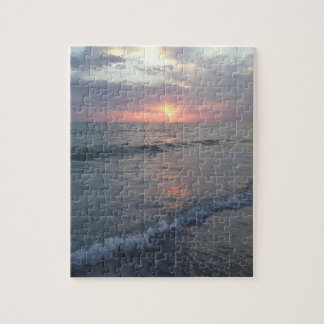 Sunset at the Beach Puzzle