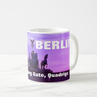 Sunset at the Brandenburg Gate, Berlin Coffee Mug