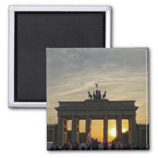 Sunset at the Brandenburg Gate, Berlin Magnet