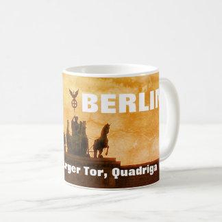 Sunset at the Brandenburger Tor, Berlin Coffee Mug