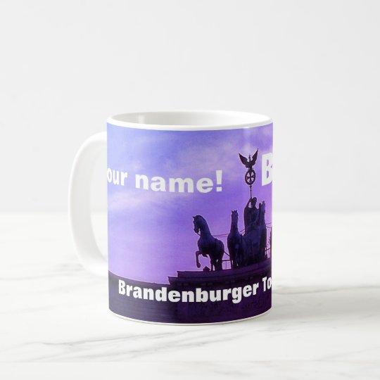 Sunset at the Brandenburger Tor, Berlin (P02.4) Coffee Mug