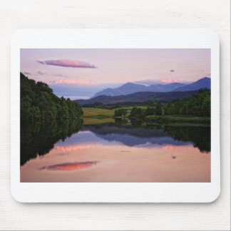 Sunset at the Caledonian Canal near Fort William Mouse Pad