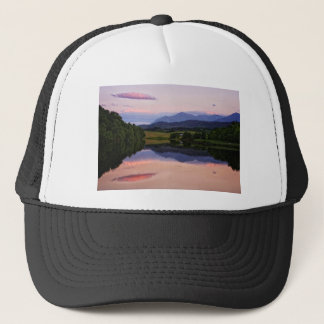Sunset at the Caledonian Canal near Fort William Trucker Hat