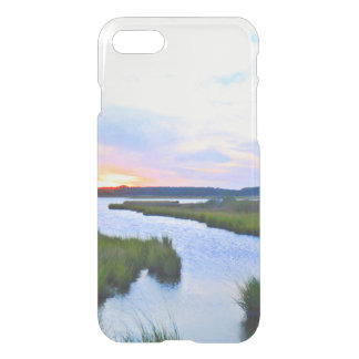 Sunset at the Delaware Shore iPhone 7 Case