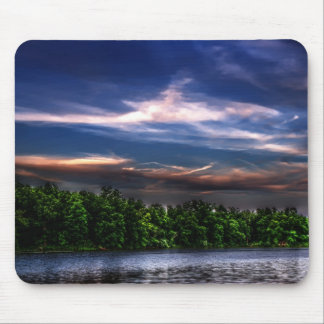 Sunset At The Lake Mousepad