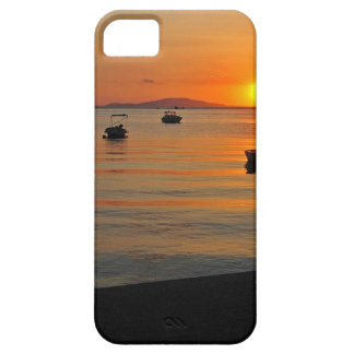 Sunset at the port of Novalja n iKroatien Case For The iPhone 5