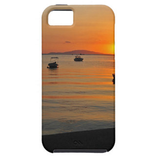 Sunset at the port of Novalja n iKroatien iPhone 5 Cover