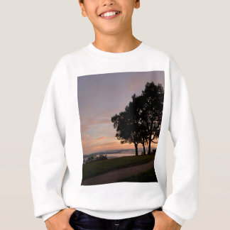 sunset at the rock sweatshirt