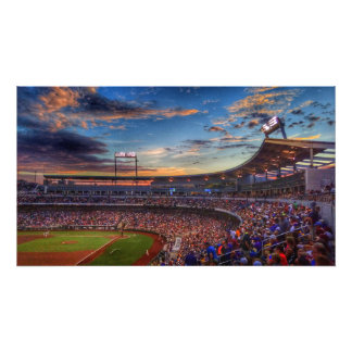 Sunset at the Stadium Photo Print