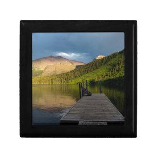 Sunset at Two Medicine Lake Gift Box