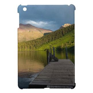 Sunset at Two Medicine Lake iPad Mini Cover