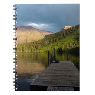 Sunset at Two Medicine Lake Notebooks
