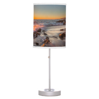 Sunset at Victoria Beach Table Lamp