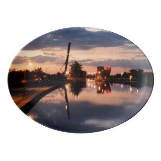 Sunset at Welland Platter