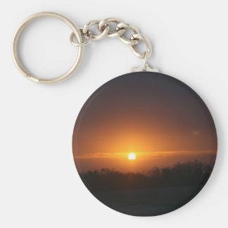 sunset atlanta keychain