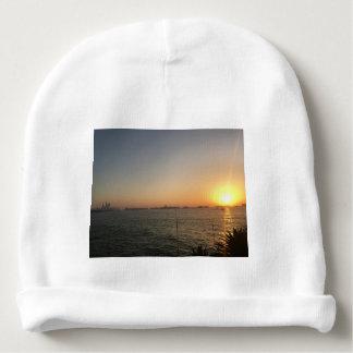 sunset baby beanie